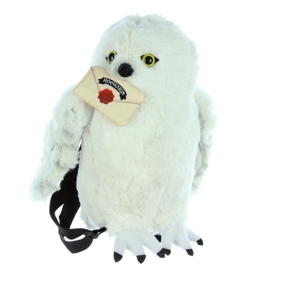 Harry Potter Owl HogWarts Wizard Plush Backpack